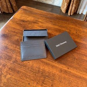 Moët Hennessy Leather Card Holder